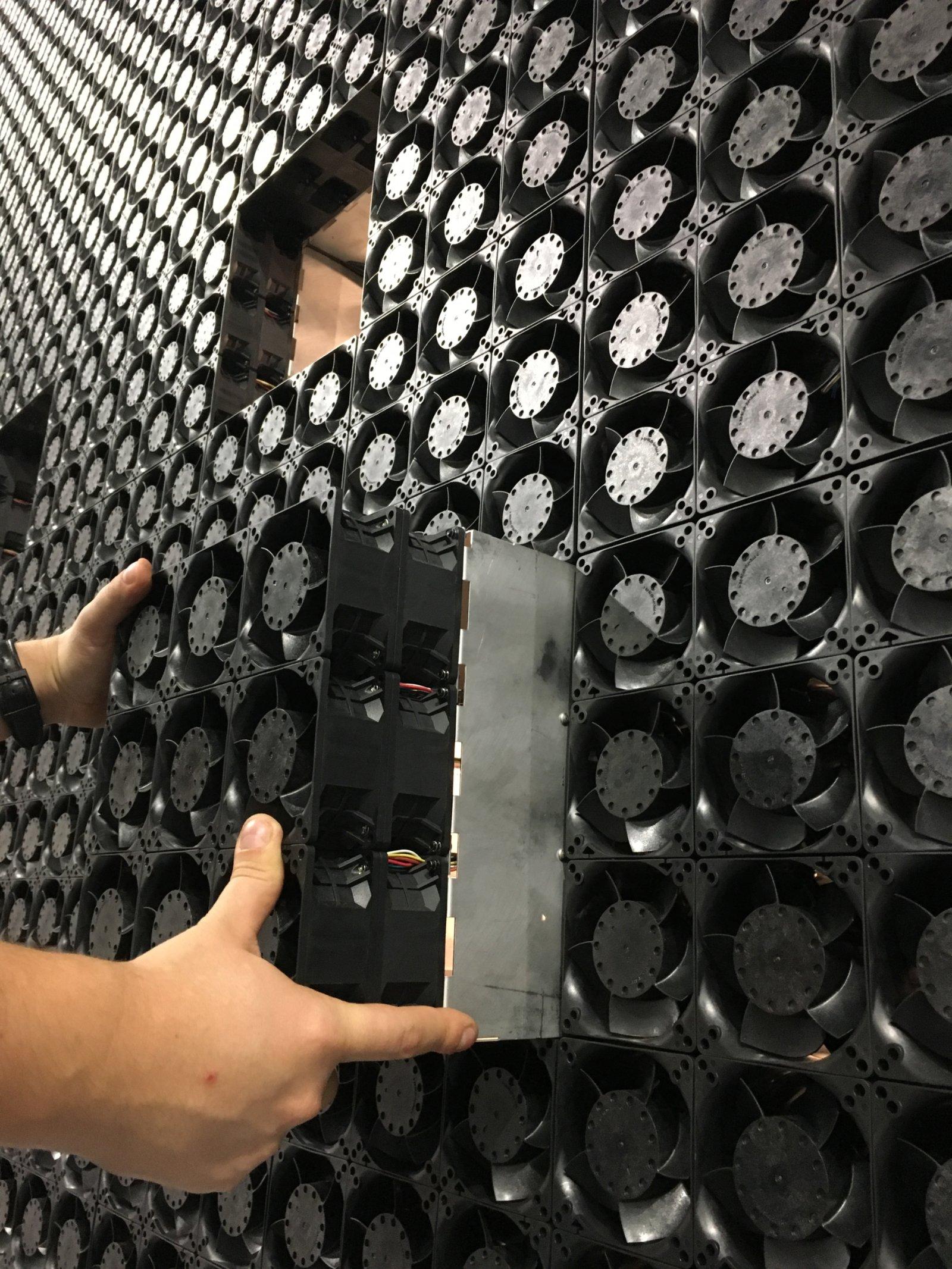 WindShape Wind Module - Fan Array Wind Tunnel